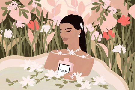 Campagne digitale pour le parfum Gucci Bloom